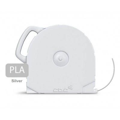 PLA пластик CubeX серебристый 1 кг