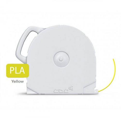 PLA пластик CubeX желтый 1 кг