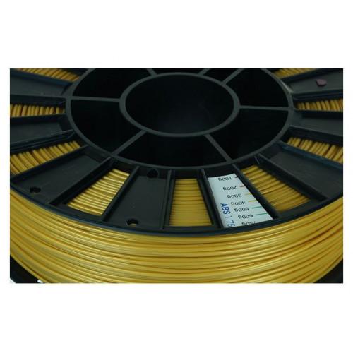 ABS пластик 1,75 REC золотой RAL1036 0,75 кг