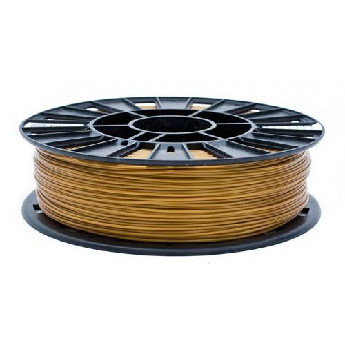PLA пластик 1,75 REC золотой RAL1036 2 кг