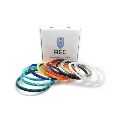 Набор REC PLA для 3D ручки 12 цветов 350г