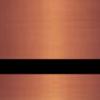 Пластик для гравировки Standard Metals 3.0 мм медь сатин/чёрный