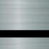 Пластик для гравировки Standard Metals 3.0 мм серебро сатин/чёрный