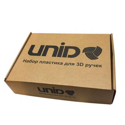 Набор пластика ABS Unid 1,75 флуоресцентного, 3 цвета