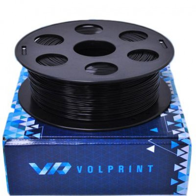 ABS пластик 1,75 Volprint черный 1 кг