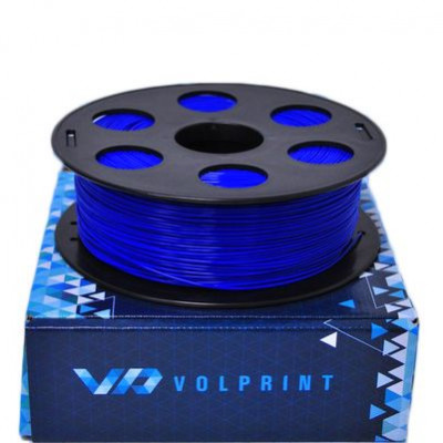PLA пластик 1,75 Volprint синий 1 кг