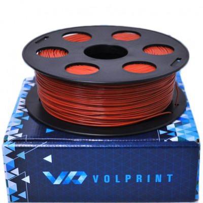 PLA пластик 1,75 Volprint коричневый 1 кг