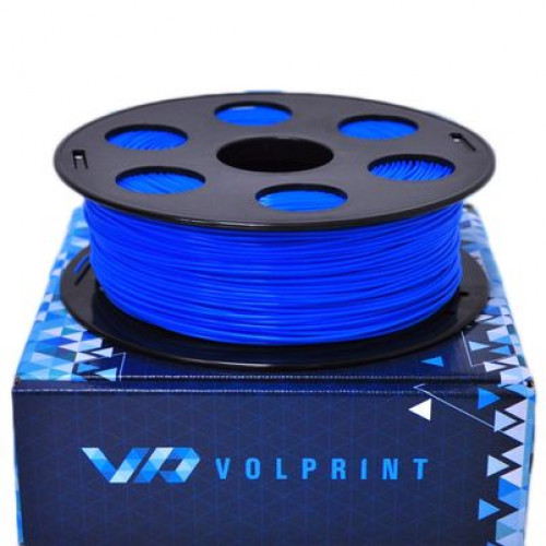 PLA пластик 1,75 Volprint голубой 1 кг