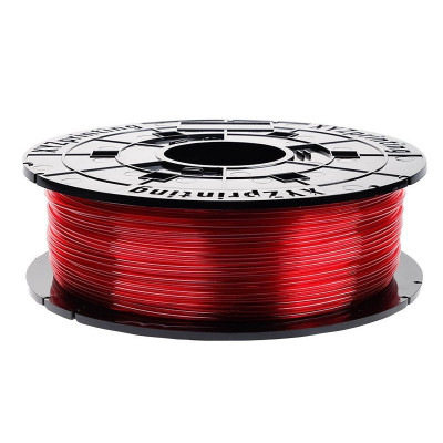 PETG XYZPrinting 1,75 прозрачно-красный 0,6 кг