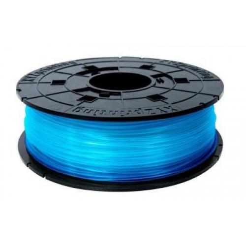 PLA в картридже 1,75 XYZPrinting прозрачно-синий 0,6 кг