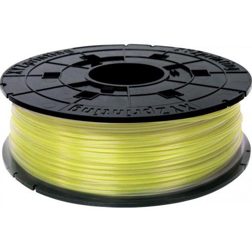 PLA в картридже 1,75 XYZPrinting прозрачно-желтый 0,6 кг