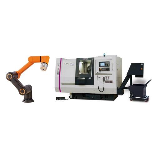 Роботы для автоматизации токарных станков с ЧПУ