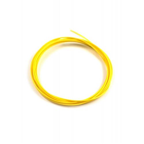 Эластичный пластик Мастер-Пластер для 3D ручки желтый, 100 грамм