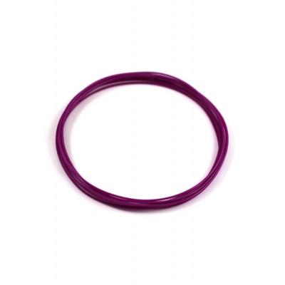 Гибкий пластик Мастер-Пластер для 3D ручки фиолетовый, 100 грамм