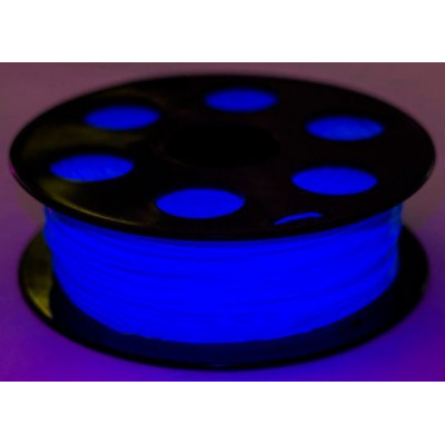 PLA пластик Bestfilament 1,75 мм флуор. голубой 1 кг