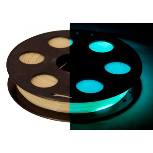 PLA пластик Bestfilament 1,75 мм светящийся 0,5 кг