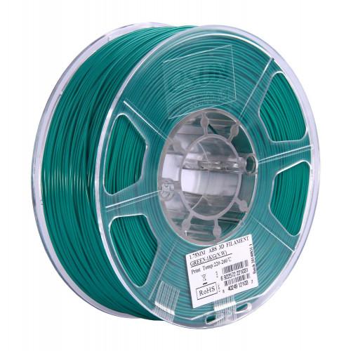 ABS пластик ESUN 1,75 мм, 1 кг, зеленый
