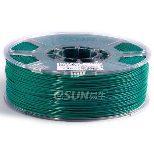 PLA пластик ESUN 1,75 мм, 1 кг, зеленый