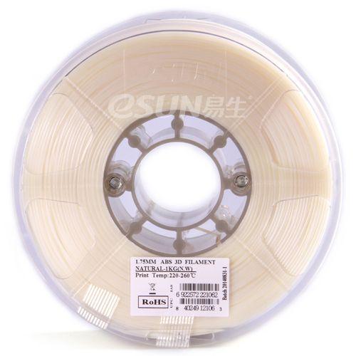 PLA пластик ESUN 1,75 мм, 1 кг, натуральный