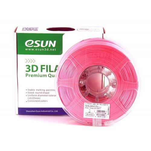 PLA пластик ESUN 1,75 мм, 1 кг, розовый
