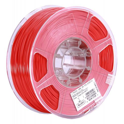 ABS пластик ESUN 1,75 мм, 1 кг, красный