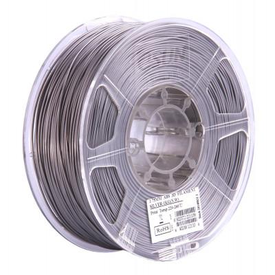 PLA пластик ESUN 2,85 мм, 1 кг, серебристый