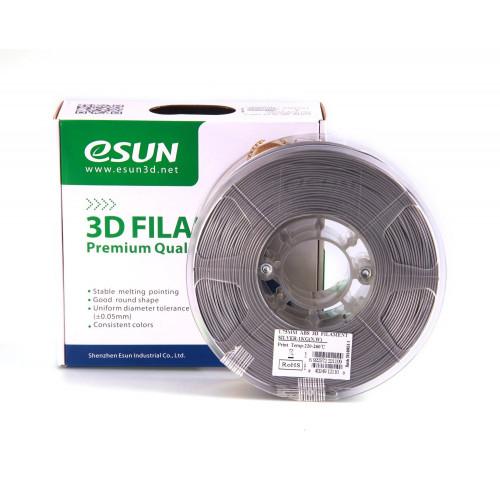 PLA пластик ESUN 1,75 мм, 1 кг, серебристый