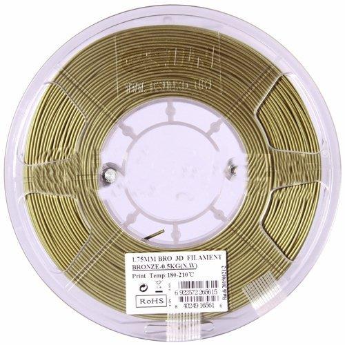 Bronze пластик ESUN 2,85 мм, 0,5 кг