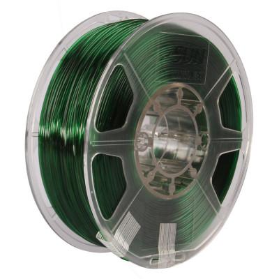 PETG пластик ESUN 1,75 мм 1 кг, зеленый