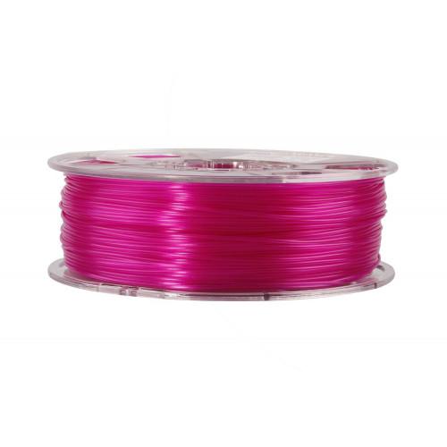 PLA пластик ESUN 1,75 мм, 1 кг, прозрачно-пурпурный