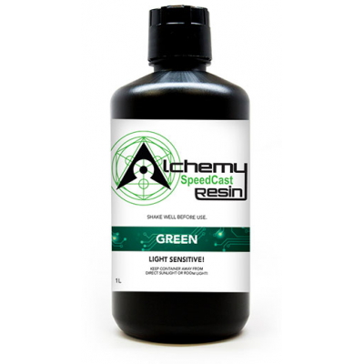 SpeedCast Green Resin 1L