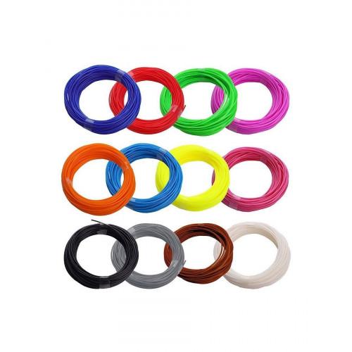 Funtastique Комплект PLA для 3D-ручек - 12 цветов