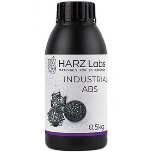 Фотополимер HARZ Labs Industrial ABS Black LCD/DLP, 0,5 кг