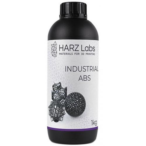 Фотополимер HARZ Labs Industrial ABS Black LCD/DLP, 1 кг