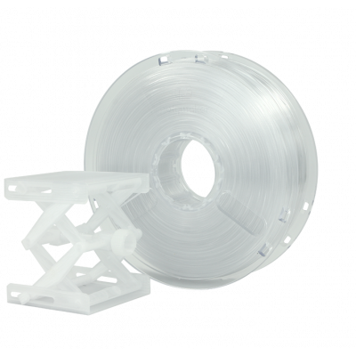 PLA пластик PC-Plus 1,75 Transparent 0,75 кг