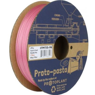 HTPLA Proto-pasta 1,75 мм Cupid's Crush розовый металлик 0,5 кг