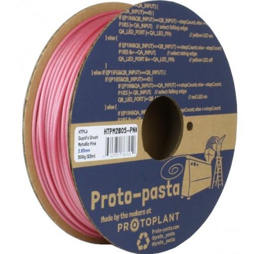 HTPLA Proto-pasta 2,85 мм Cupid's Crush розовый металлик 0,5 кг