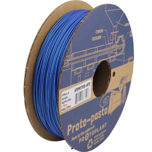 HTPLA Proto-pasta 1,75 мм Highfive синий металлик 0,5 кг