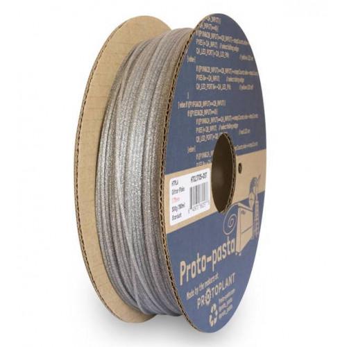 HTPLA Proto-pasta 1,75 мм Stardust серый блестящий 0,5 кг