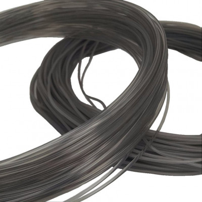 HTPLA Proto-pasta v2 2,85 мм Silver Smoke прозрачный серебряный 0,5 кг