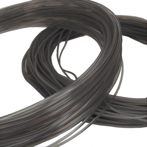 HTPLA Proto-pasta v2 1,75 мм Silver Smoke прозрачный серебряный 0,5 кг