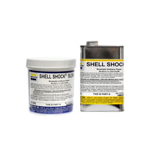 Пластик Smooth-On Shell Shock SLOW, 5,45 кг