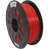PLA пластик 1,75 SolidFilament прозрачный красный 1 кг