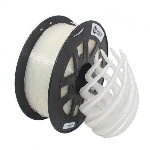 PLA пластик 1,75 SolidFilament белый 0,75 кг