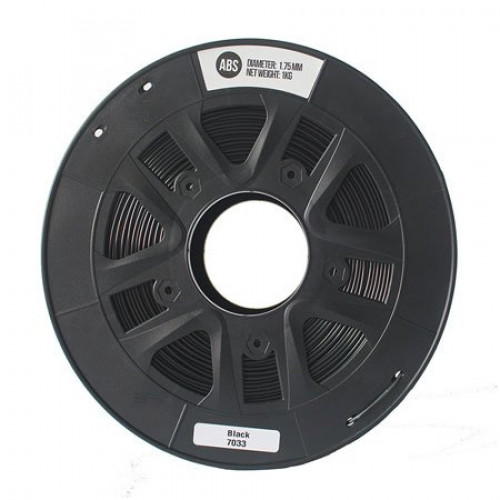 ABS пластик 1,75 SolidFilament черный 1 кг