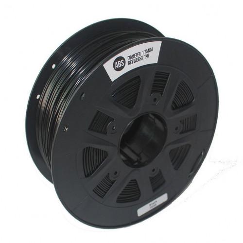 PETG пластик 1,75 SolidFilament черный 1 кг