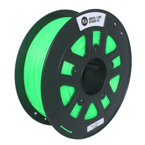 PLA пластик 1,75 SolidFilament зеленый 1 кг
