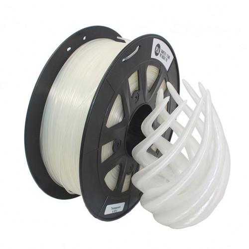 PLA пластик 1,75 SolidFilament белый 1 кг