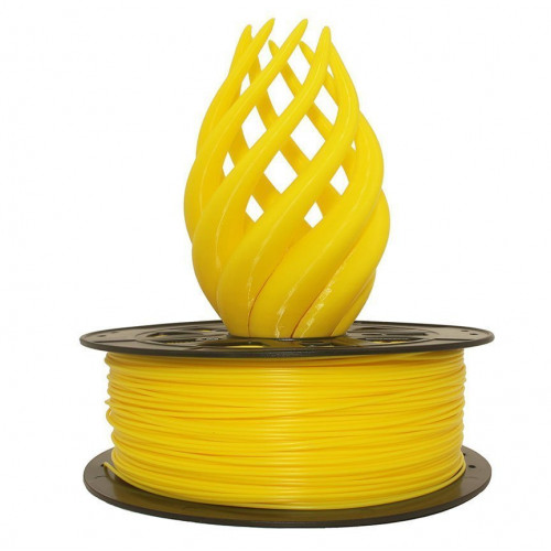 PLA пластик 1,75 SolidFilament желтый 1 кг