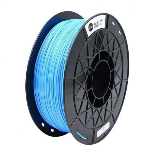 PLA пластик 1,75 SolidFilament голубой 1 кг